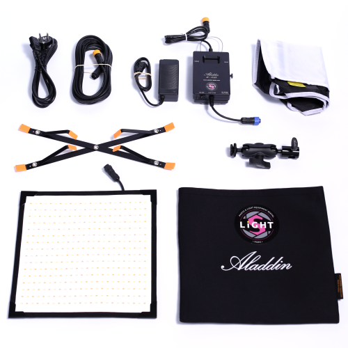Location Matériel Photo Aladdin Bi-Flex 1 LED Panel Kit