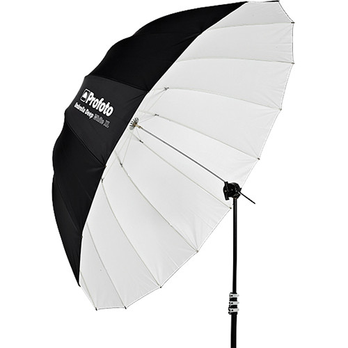 Location Matériel Photo Parapluie Deep White XL 165 cm