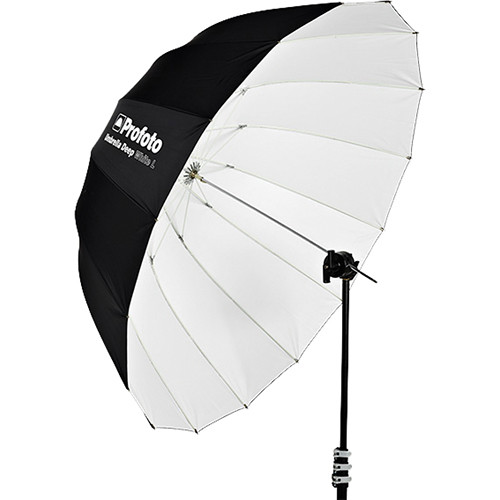Location Matériel Photo Parapluie Deep White L 130 cm