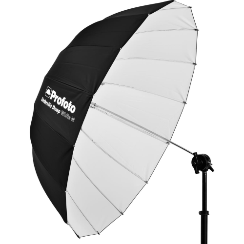 Location Matériel Photo Parapluie Deep White M 105 cm